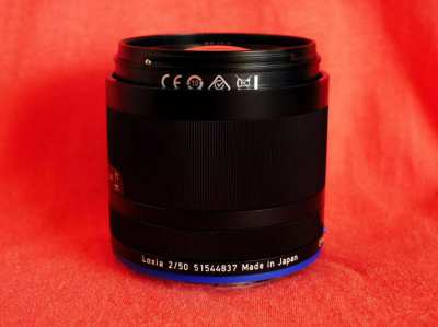 Carl Zeiss Loxia Planar T* for Sony E 50mm f2 Weather-Resistant Lens