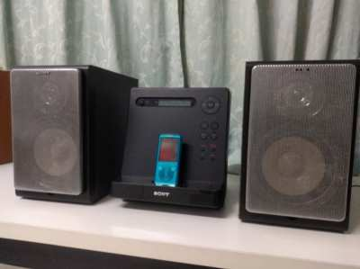 Sony CMT-V3 พร้อมลำโพง SS-CJ300