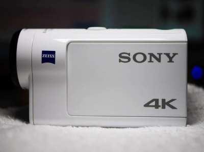 Sony Action Cam 4K FDR-X3000 Wi-Fi GPS Balanced OSS FDR X3000