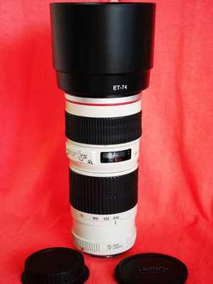 Canon EF 70-200mm F4 L USM L-series Professional Lens