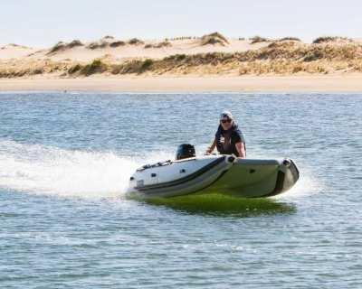 Takacat 380LX  -  Ultimate Portable Inflatable Catamaran