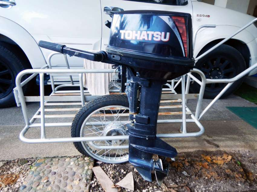 Tohatsu 9.8 (Less than 50 hrs ) For sale