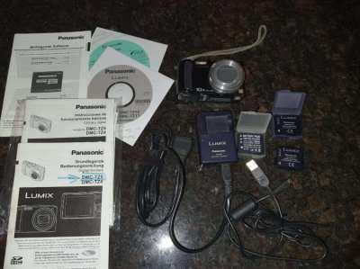Panasonic Lumix digital photo camera with video function