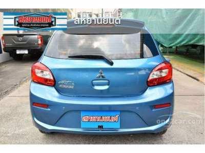 Mitsubishi Mirage GLX top hatchback car for RENT in Hua Hin