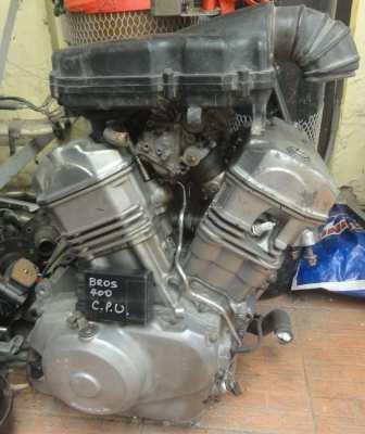 Honda Bros 400cc Engine