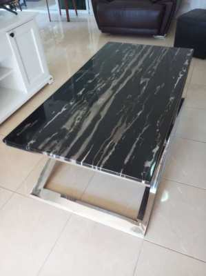 Index Living Mall Sassari Marble Coffee Table for Sale