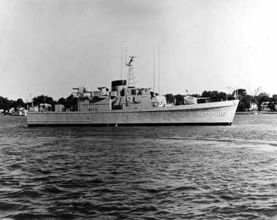 US NAVY Motor gunboat 117 (PGM-117)