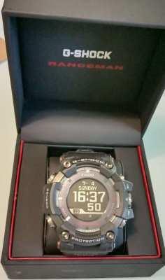 G-Shock Rangeman GPS GPR -B1000