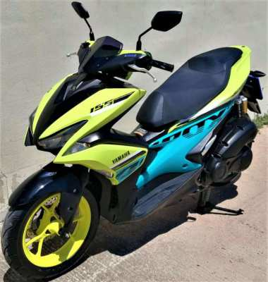 03/2020 Yamaha Aerox 155 4xxxkm 49.900 ฿ Easy Finance by shop