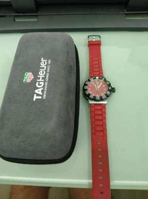 Tag Heuer Ferrari Red Formula 1 Watch 41mm WAC1113