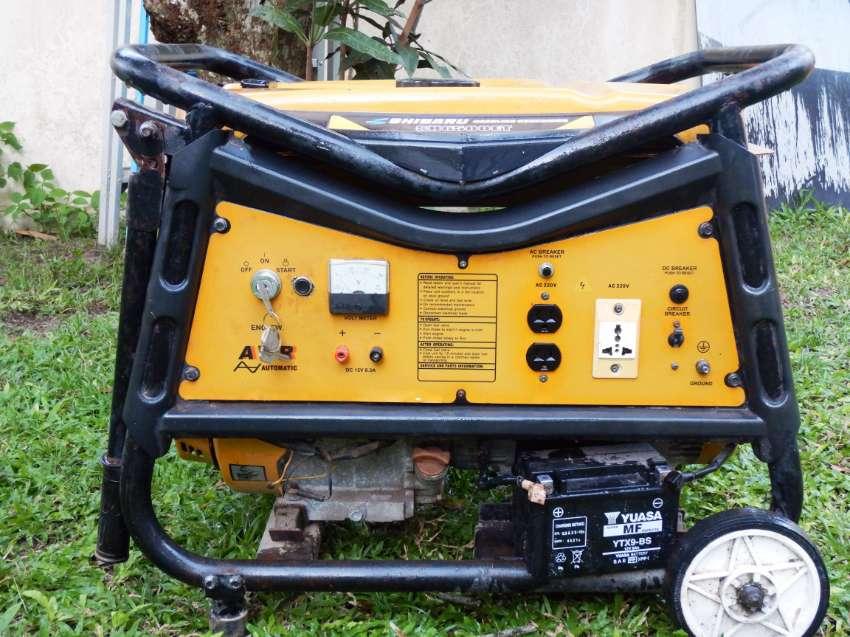 Generator Shibaru 6500 watts , LOW HRS USING !