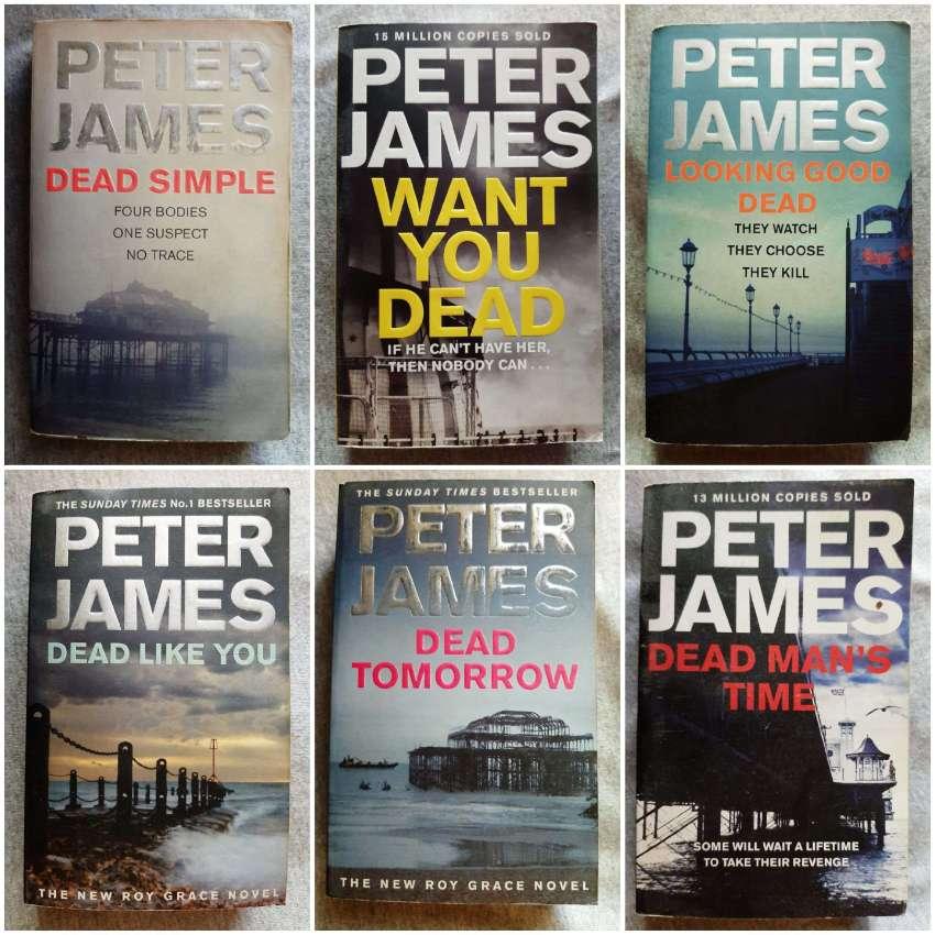 Peter James - DCI Roy Grace; Brighton Based Crime Drama