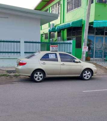 Toyota Vios E a/t NEVER lpg