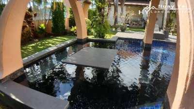 #3179  Executive pool villa. Far reaching views. Full of character