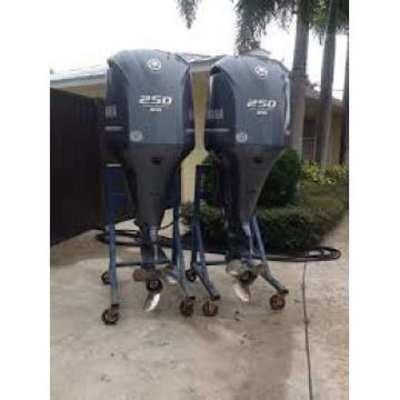 Slightly Used Yamaha 150HP 4 Strokes Outboard Motor Engine