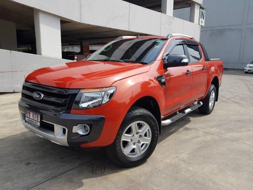 2012 Ford Ranger 2.2 Wild Track 4X4