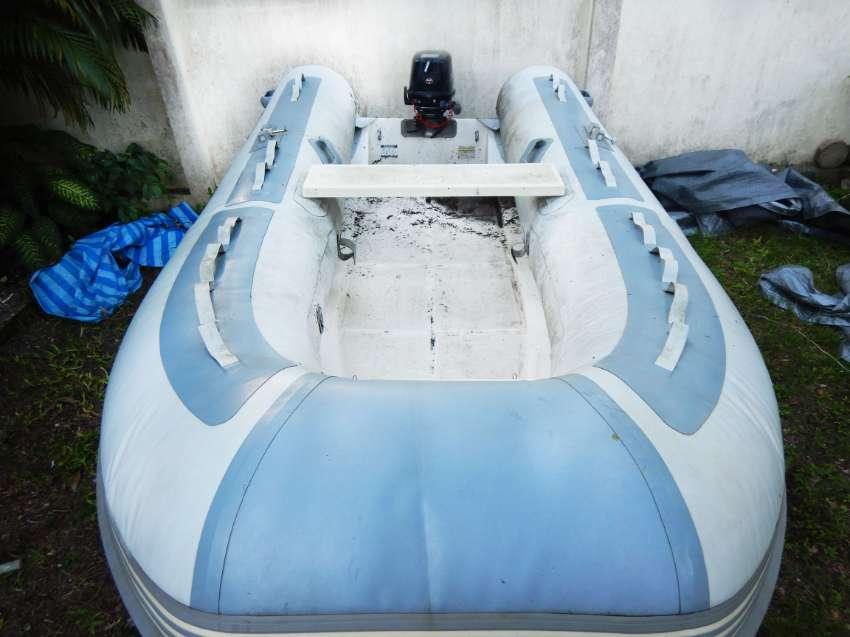 Dinghy (RIB) West Marine 3.5m + Trailer + Tohatsu 8hp . NEW condition