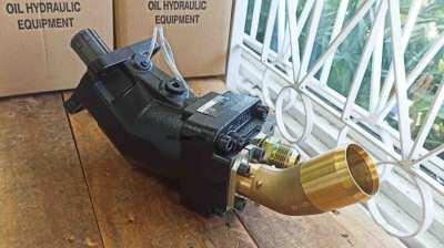 ปั๊มลูกสูบไฮดรอลิคแบบงอ (Axis Piston Hydraulic Pump)