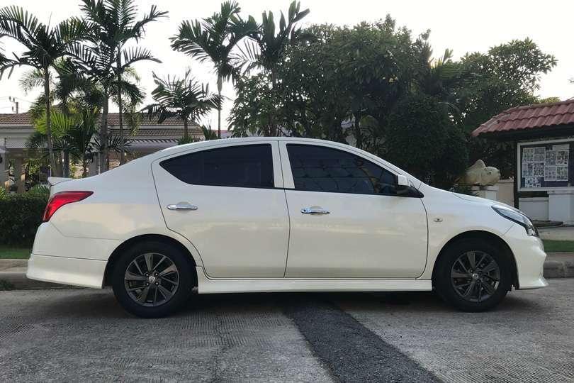 Nissan Almera Sportech for rent