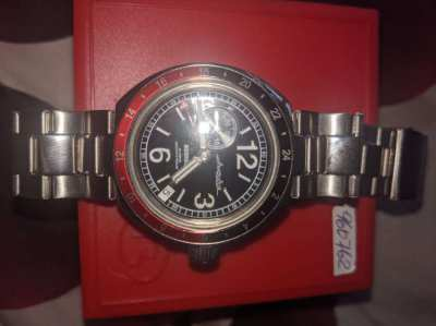 B watch Dive 200m 32 jewels automatic Neptun limited edition from Vost