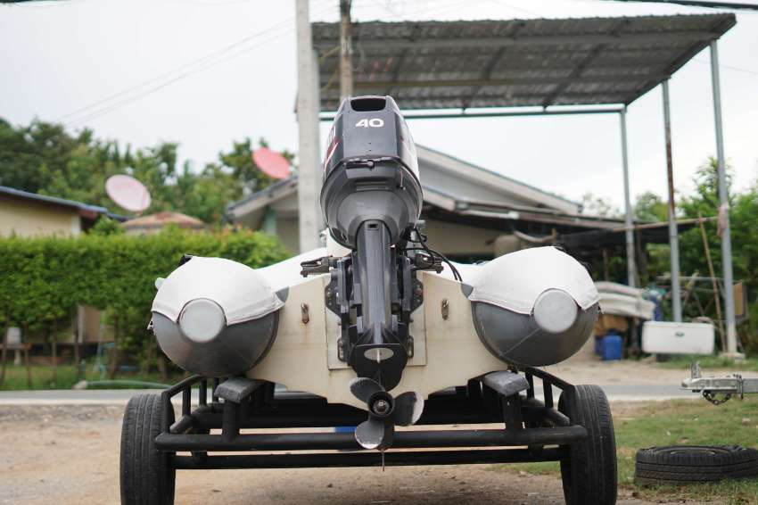 RIB 3.6m with Yamaha 40hp.(Speed RIB) including trailer