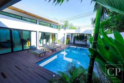 Exceptional Balinese Style 3-Bedroom Pool Villa, Layan, Phuket