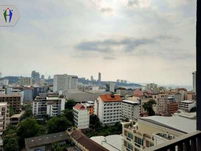 Luxury Condo The Base Central Pattaya. 2 Bedrooms for Rent 15,000 baht