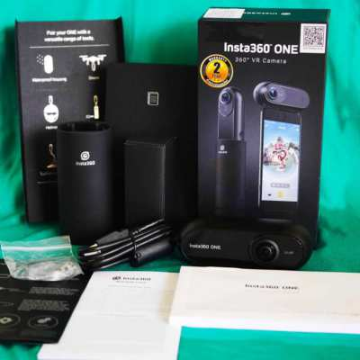 Insta360 One 360 Degree Panoramic Sports Action Video Camera FlowState