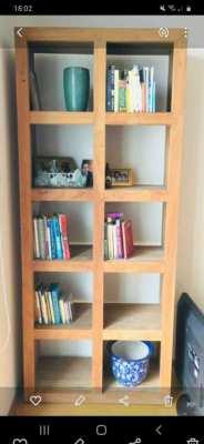 Premium wood book shell