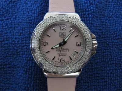 Tag Heuer Formula One Diamond Pink Ladies Watch