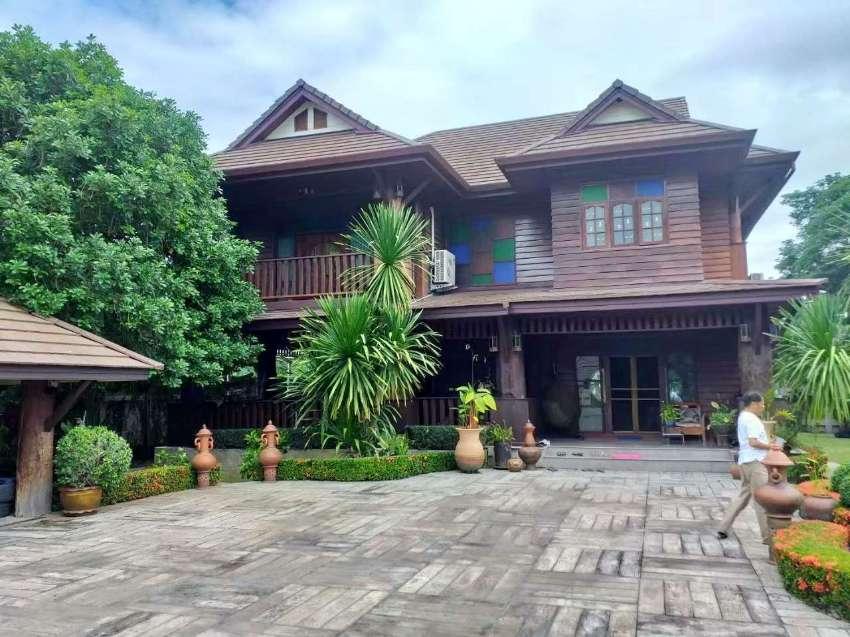 House for sale San Klang area , 5 km. from Big C Supercenter Donchan