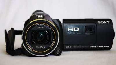 Sony HDR-PJ650VE 20.4MP Handycam® camera, GPS, Projector PJ650