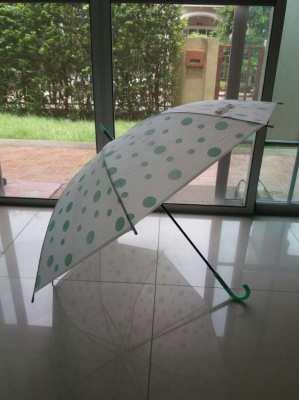 Green Polka Dots Umbrella