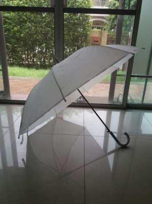 White Elegant Hook Umbrella