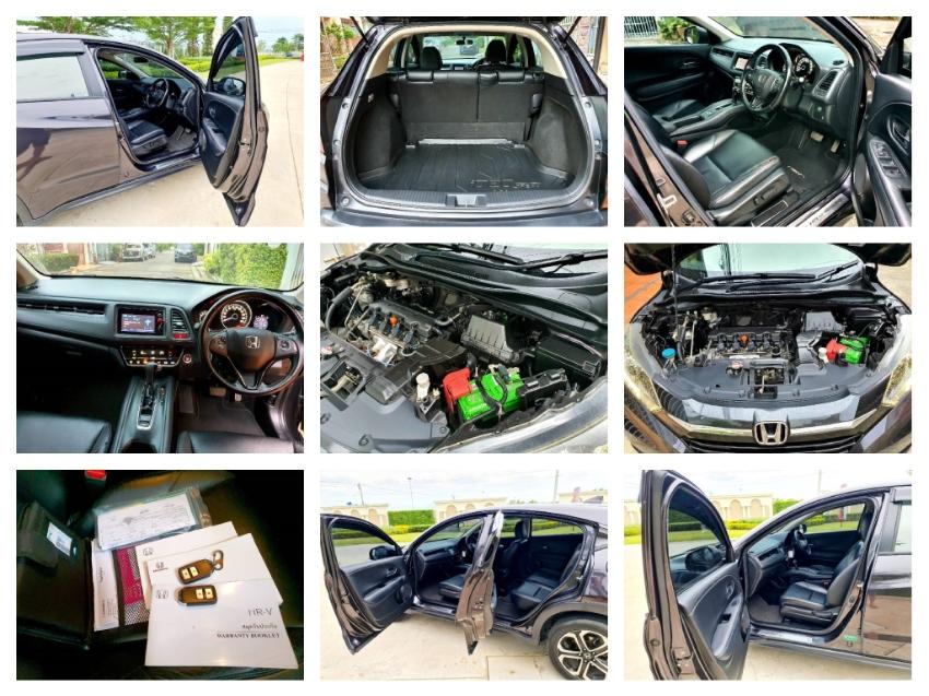 HONDA HRV 1.8 E AUTO ปี2016 จดปี 2017 ไมล์แท้