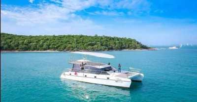 The catamaran is very cheap!!!