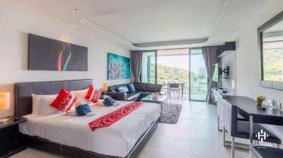 Sea View Studio Condominium in Patong