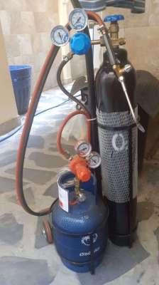 Oxygen / Propane gas welding set