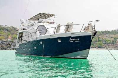 ขายเรือยอร์ชส่วนตัว เรือสำราญหรู สำหรับท่องเที่ยว พักผ่อน