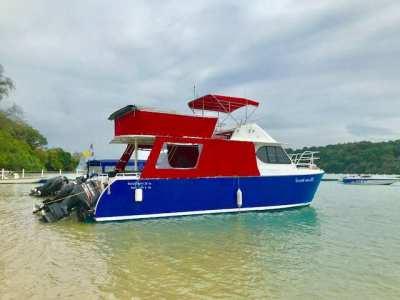 Aluminum catamaran for sale
