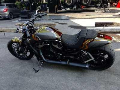 2009 Custom Carbon Harley Davidson V-rod Muscle