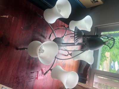Lamp for leaving room