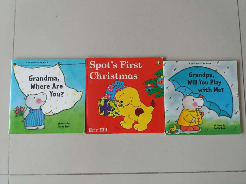 LIFT THE FLAP BOOKS - Grandpa Will You Play With Me, Grandma Where Are