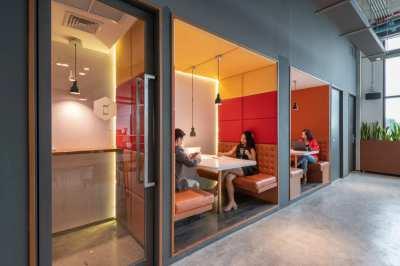 [Hot Deal] Rent 1 year, get ฿3,000: Service Office at BTS Phra Khanong