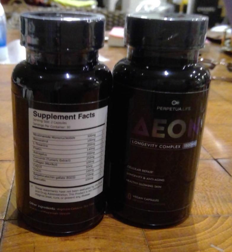 Longevity Health supplements