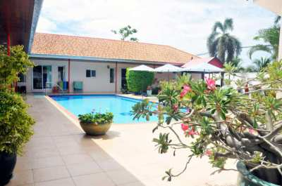 REDUCED FOR QUICK SALE 3 BR  Pool Villa 1.5Km from Samroiyod Beach