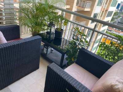 Three Piece Outdoor Furniture Setting
