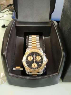 Tag Heuer 2000 Series CE1120 Chronograph Quartz Black Dial 42mm watch
