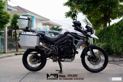 [ For Sale ] Triumph tiger XCA 2017 with 3 box and Arrow exhuast.   --