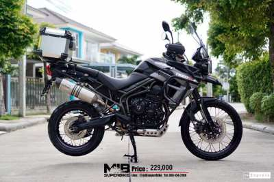 [ For Sale ] Triumph tiger XCX 2015 with box and Leovince exhuast.   -